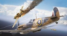Ww2 Fighter Planes, Ww2 Planes, Fighter Aircraft, Fighter Jets, Ww2 Aircraft, Military Aircraft, The Art Of Flight, The Spitfires, War Thunder
