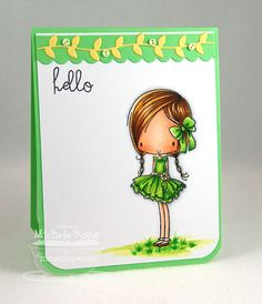Great greens by Michele Boyer http://papercuts.blogs.splitcoaststampers.com/