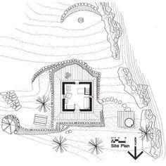 Cabin Style House Plan - 1 Beds 0 Baths 546 Sq/Ft Plan #547-1 Floor Plan - Other Floor Plan - Houseplans.com