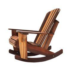 Adirondack Rocker Chair