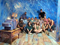 From left to right, starting with the back row: Editor Charles Latham of Animi.Design, DP Kyle Stryker, Director/Writer/Choreographer/Movement Artist Jon Boogz, Producer Kalie Acheson of Animi.Design, Artist Alexa Meade, Set Decorator Ashley Snively, Movement Artist Lil Buck, B Camera/Ronin Operator Sinziana Velicescu, Choreographer/Editor Alec Clawson, Behind the Scenes Gavin Millette, Set Decorator/Behind the Scenes Abbey Sacks, Project Coordinator Liz Olenski, Set Decorator Britt…