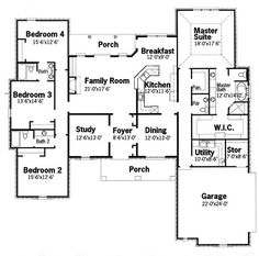 single story plan. this is my dream floor plan but the game room
