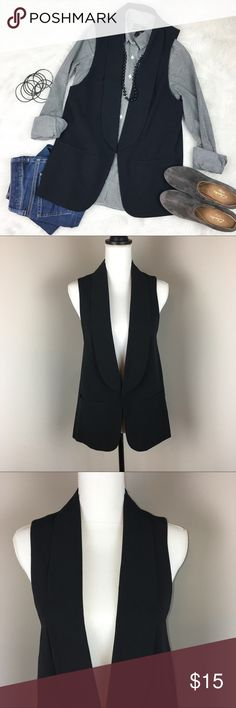 Wassino Black Slim Vest Wassino (target brand) black slim vest. Size small. NWT. ❌No trades ❌ Modeling ❌No PayPal or off Posh transactions ❤️ I 💕Bundles ❤️Reasonable Offers PLEASE ❤️ Wassino Jackets & Coats Vests