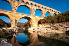 Nimes, France  I visited here and stood on top of the Aqua Duct