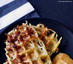 Wir retten: Kartoffeln - hier: Kartoffelpuffer aus dem Waffeleisen