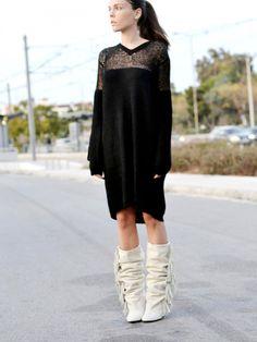 give me white fringe bootsssss