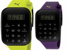 Calculus, el nuevo reloj de Puma con calculadora