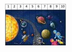 Solar System Activities, Solar System For Kids, Space Activities For Kids, Space Crafts For Kids, Solar System Crafts, Projects For Kids, Preschool Library, Space Preschool, Preschool Centers