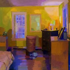 Yellow Bedroom by Jennifer OConnell