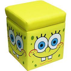 Spongebob Cartoon Face Pillow 16 Quot Round Nickelodeon New