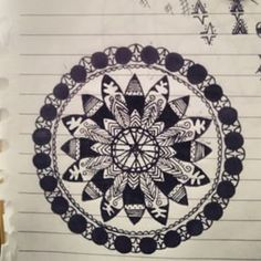 one of my mandala pieces