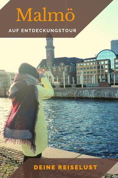 Die 3. größte Stadt Schwedens ist definitv eine Reise wert! Hier erfährst du was dich in Malmö erwarten wird und was du auf keinen Fall verpassen solltest! Wann gehst du auf Entdeckungstour in Malmö?  #schweden #malmö #malmoe Travel Around The World, Around The Worlds, Cities, Scandinavian, Movie Posters, Super, Roadtrip, Copenhagen, Inspiration