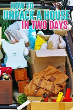 This expert has moved 30 times in 14 years. Her expert tips can help you unpack a home in 2 days after a move. I Packing Tips Moving House Tips, Moving Home, Moving Day, Moving Tips, Moving Hacks, Move On Up, Big Move, Moving Organisation, Organization Ideas