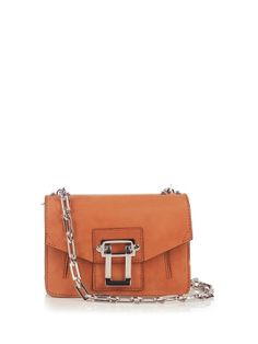Proenza Schouler's Hava bag is crafted in Italy from smooth nubuck in a rich mahogany-brown shade – it feels so right for the new season. Small but perfectly formed, it has a zip-fastening back pocket to keep your phone close to hand.