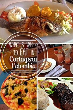 What and where to eat in Cartagena de las Indias, Colombia. From fish to ceviche to pizza to mango, find out what to order and where to get the best food in Cartagena and Getsemani.