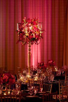 Wedding Planners - Eventrics | Wedding Event Design - Occasions by Shangri-La | Photographer - Jensen Larson Photography | Venue - Grand Hyatt Tampa | Indian Wedding Reception