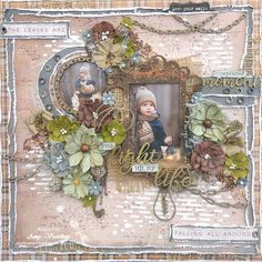 49 and Market Rusty Autumn Collection. Amy Voorthuis . Amy's Pretty Papers: You Light up my Life Layout for ***49 and Market*** & *** The Dusty Attic***!
