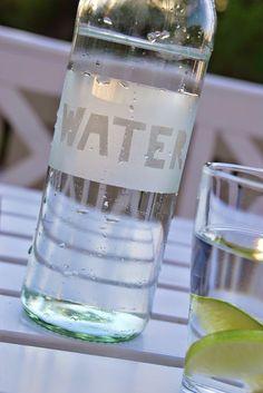 Hverdagsbloggen: Vannflaske DIY