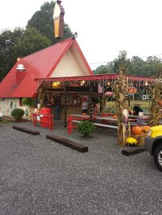 Burger Master in Townsend TN. Awesome soft serve ice cream too.