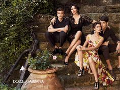 Dolce & Gabbana Spring/Summer 2012 Woman campaign; Giampaolo Sgura photography.