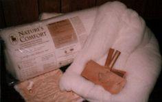 Nature's Comfort Wool Batting (Full-Queen)-Comforter Weight - The St. Peter Woolen Mill