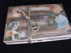 Memo-Holzbox
