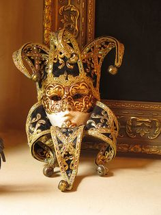 Venetian Mask - Masks have been created with plastic surgery for mutilated soldiers.