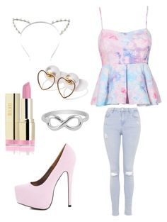 Untitled #1 by sei84 on Polyvore featuring polyvore, beauty, Candie's, Jewel Exclusive, Topshop and AX Paris