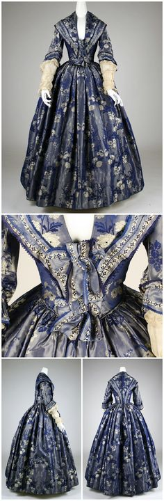 1842. British. Silk. metmuseum