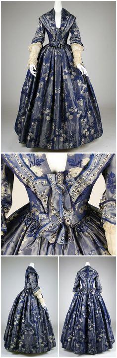 1842. British. Silk. metmuseum
