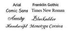 images of different type of fonts - - Yahoo Image Search Results