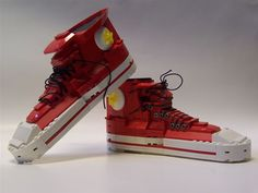 lego creations - Converse shoes