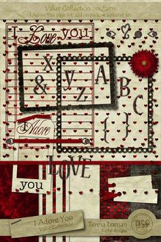 Lovely Little Kit by Teresa  for Digital Scrapbooking
