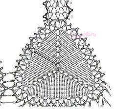 Альтернативная схема вязания лифа