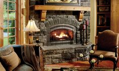 Eldorado Stone - Fireplaces