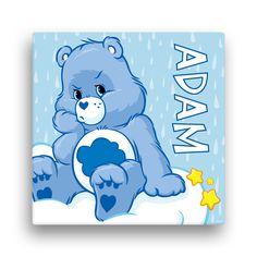 Care Bears Grumpy Bear 16 x 16 Canvas Wall Art - Wall Decor - Decor | Tv's Toy Box