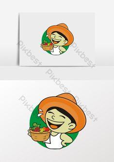 الرسوم الأصلية الفلاحين المزارعين بيع الفاكهة في صورة#pikbest# Sales Image, Farmer, Cartoon, Blog, Products, Farmers, Blogging, Cartoons, Comics And Cartoons