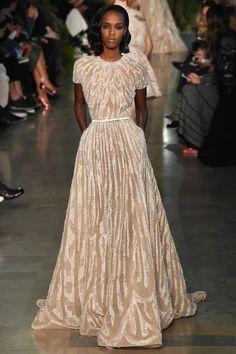 Look 13 Elie Saab Haute Couture Printemps-été 2015 © Style.com