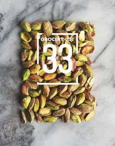 Grocery List 33 // Wit & Vinegar