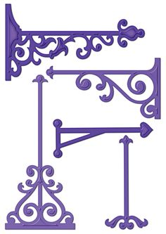 Spellbinders - Shapeabilities Collection - Die Cutting and Embossing Templates - Elegant Posts at Scrapbook.com