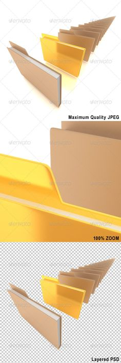 Document folders with one golden folder. Included high qualityJPEGand fully editable, layeredPSDfiles.