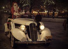 #Joulupukki, #Santaclaus, vintage effect.
