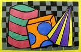 Complementary Colored Forms
