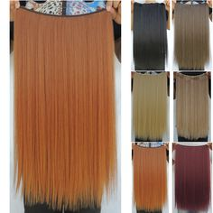 cabelo sintetico halo hair extensions piece straight flip in haar extension pieces synthetic weave extensiones hairpiece 22 inch
