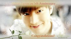 MJ 5th Anniversary with Lee Min Ho <3
