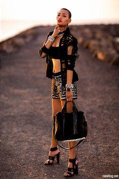 Manning Cartell (by Micah Gianneli) Love Fashion, Girl Fashion, Womens Fashion, Fashion Design, Female Fashion, Fashion Models, Micah Gianelli, Fashion Vocabulary, All Black Everything