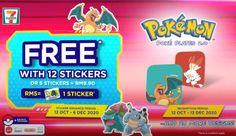 7-Eleven Malaysia: Pokémon 7 Eleven, Loyalty, Promotion, Kids, Young Children, Boys, Children, Kid, Children's Comics