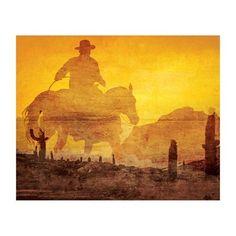 JP London MD3028 Rustic Americana Western Rancher Cowboy Removable Full Wall Wallpaper Mural