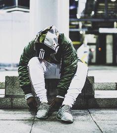 Bape / Adidas / Alpha Industries / Yeezy. Crazy fit