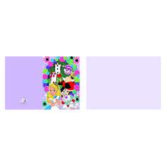 Greeting card- Alice in Wonderland Printable Greeting Card - Love of Post Digital Form, Digital Collage, A5, Alice In Wonderland, Card Stock, Empire, Boss, Stationery, Greeting Cards